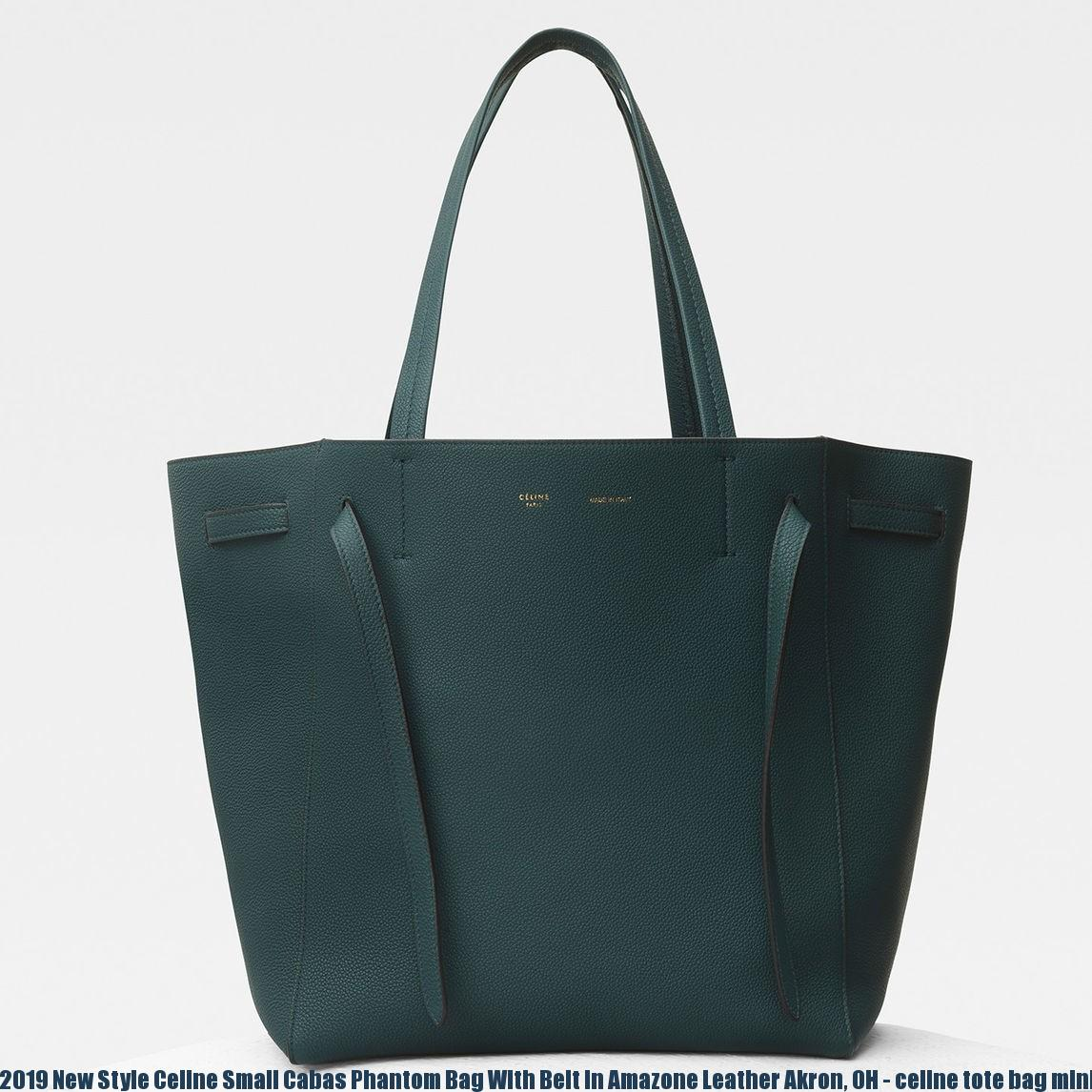 pretty cool discount collection choose clearance 2019 New Style Celine Small Cabas Phantom Bag With Belt In Amazone Leather  Akron, OH - celine tote bag mini - 2478